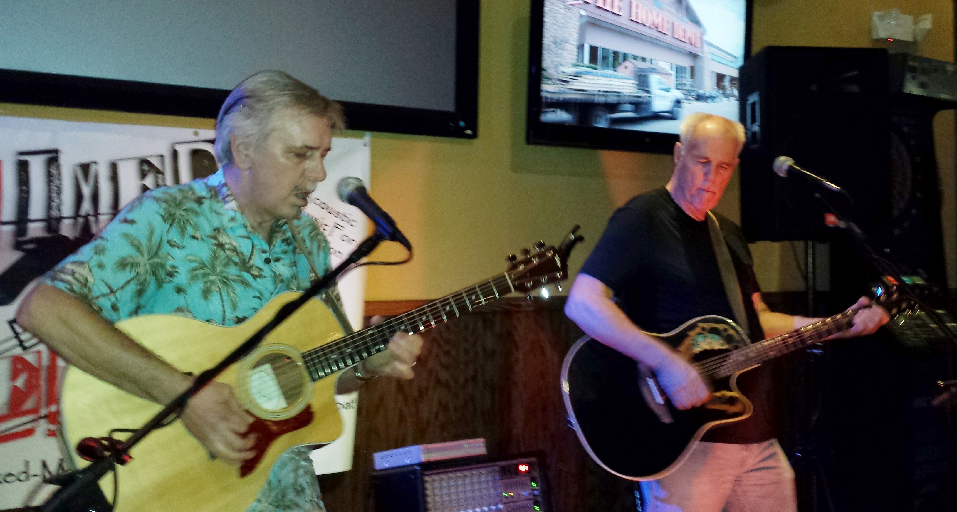 Pat & Ron Jamming at Shamrocks!