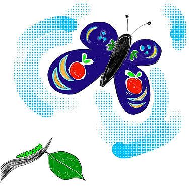 Wij helpen je te veranderen van een online rups naar een vlinder