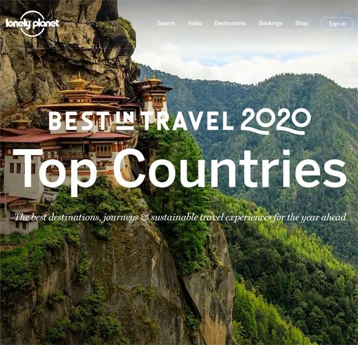Nederland verkozen tot Top Country in Best in Travel 2020 van Lonely Planet