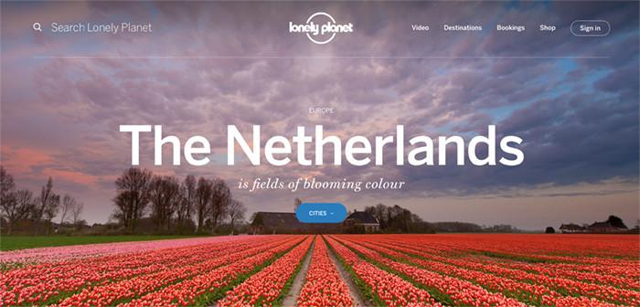 Nederland op Lonelyplanet.com