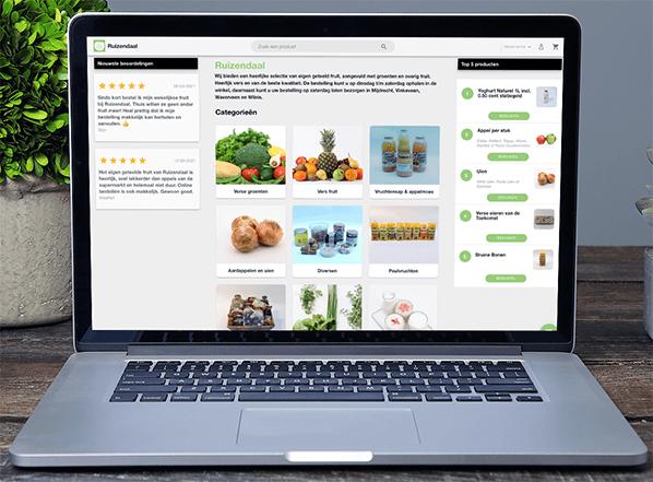 De Buy Fresh webshop van Firma Ruizendaal