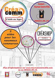 Affiche Créa-Comm Tournai