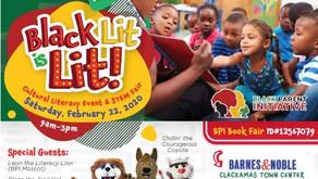 Black Lit is LIT! Cultural Literacy Event & STEM Fair