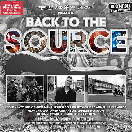 Back To The Source Social Poster (Doc' N