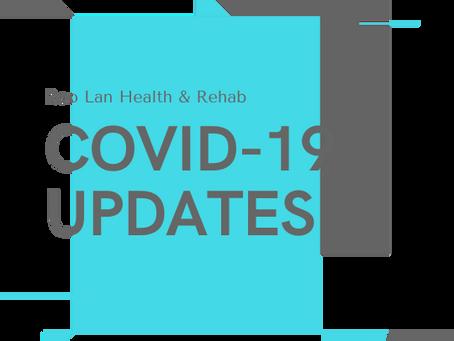 Covid-19 Updates for Roo Lan Health & Rehab
