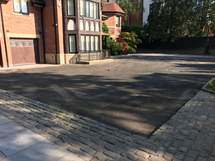 Aspho Surfacing Re-Surface Footballer's Driveway