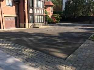 Aspho Surfacing Re-Surface Footballer's Driveway