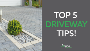 Top 5 tips to keep your driveway weed free