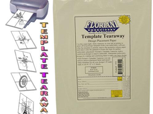 Floriani Template Tearaway