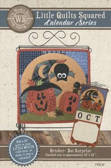 Little Quilts Squared October - Bat Surprise