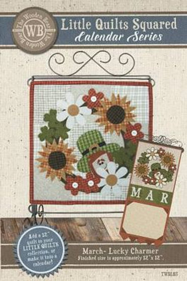 Little Quilts Squared March - Lucky Charmer
