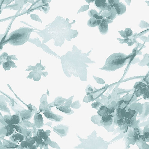 Watercolor Hydrangeas by Maywood