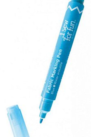 Fabric Marking Pen Blue