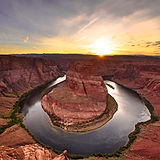 Horseshoe bend at sunrise.jpg