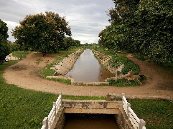 Large irrigation intake in Rufiji River Basin.