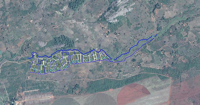 Nhamandembe Scheme Map