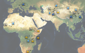 hydrosolutions' areas of work in the global drylands.