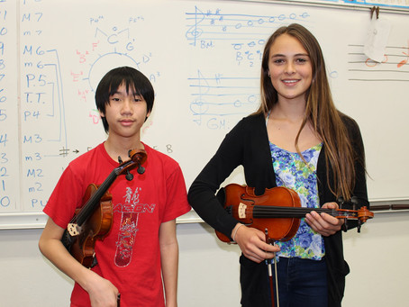 7 Muirlands Students Among the District's Top Musicians