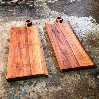 Kin Boards - Walnut Serving Board with handle