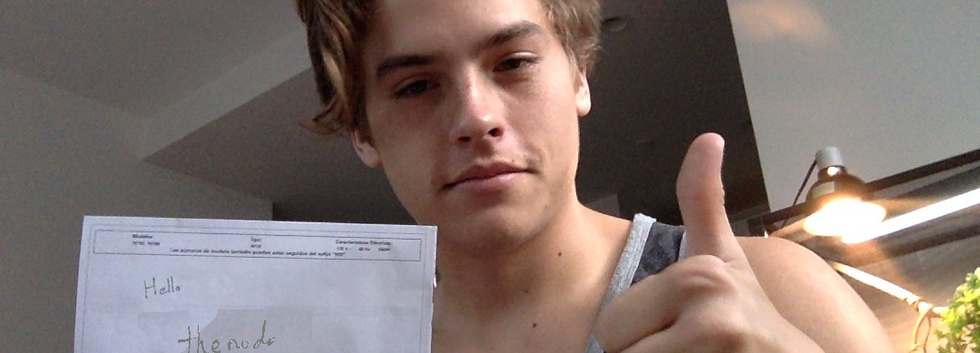 Dylan Sprouse checks in!