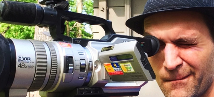 thenudo (Tony); checking cameras focus.