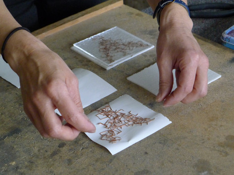 Copper Staples and Other Conductive Materials