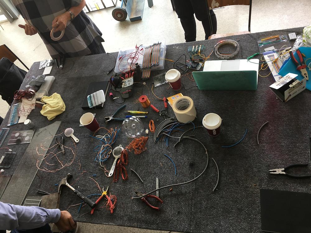 Conductive Glass Workshop, National Glass Centre