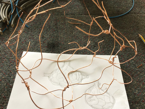 Making Vessels with Electric Veins
