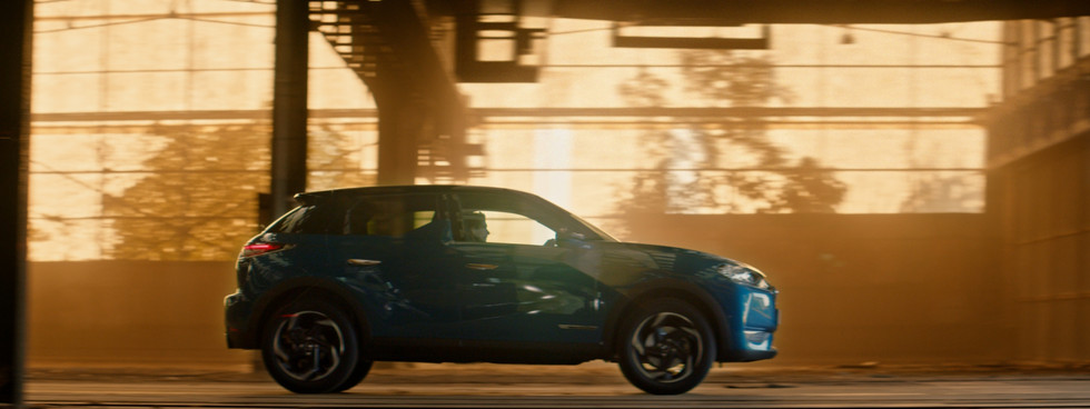 DS 3 CROSSBACK: icon of high-tech style
