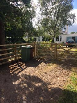 fencing-five-bar-gate-&-bin-storage