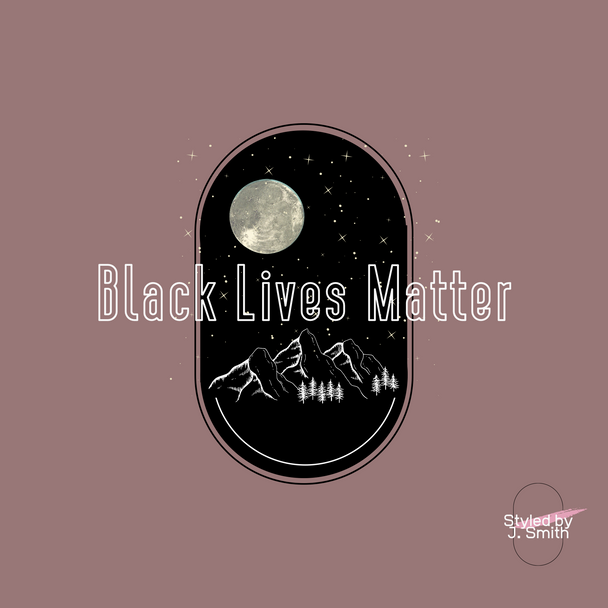 Black Lives Matter Custom Graphic