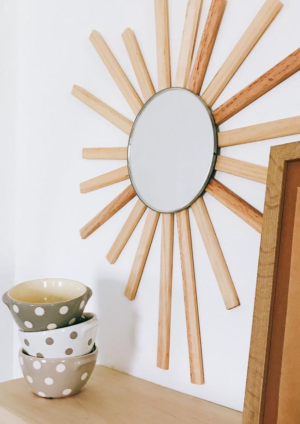 Custom Wood Sunburst