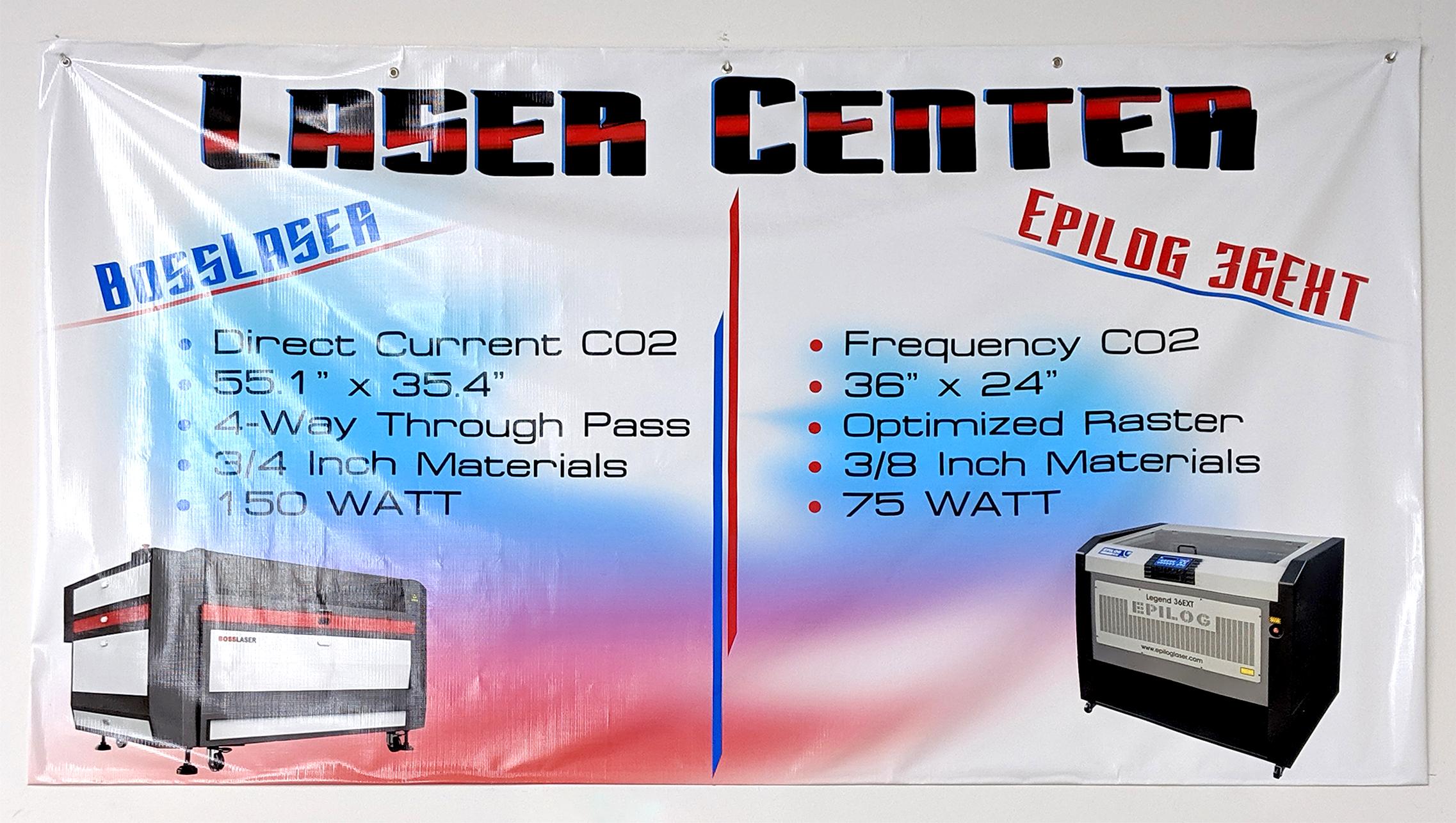Laser Center Banner