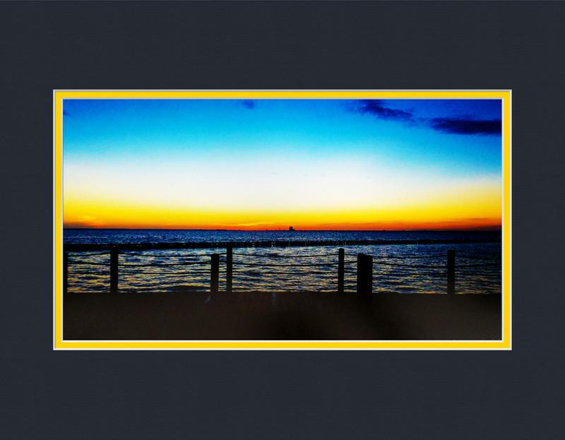 Ocean Sunrise Deluxe Print