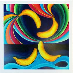 RT- Bananas Borealis Poster