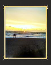 Beach Sunrise Deluxe Print