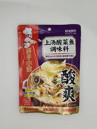 筷手小廚-上湯酸菜魚調味料包