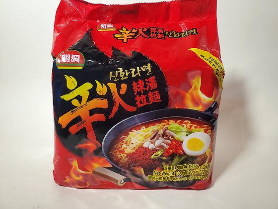 明洞 辛火辣湯拉麵(5包裝)