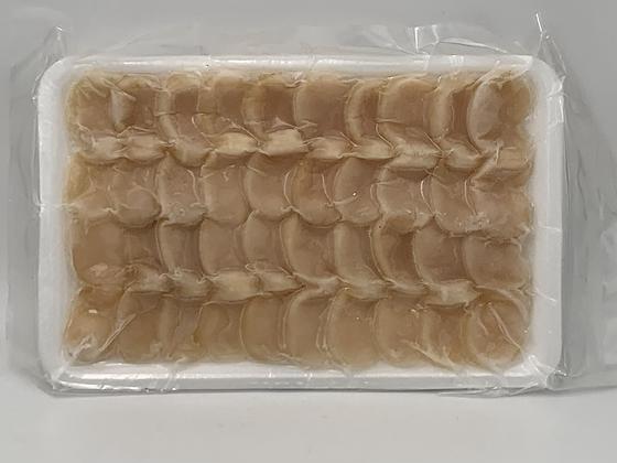 急凍平貝切片