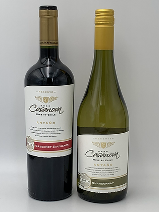 智利Casanova 紅酒/白酒(三支優惠)