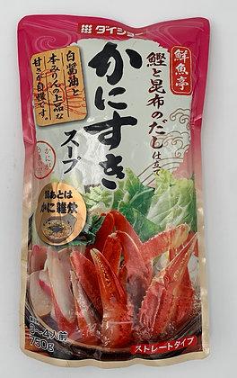 蟹肉壽喜鍋湯底(秋冬限定)