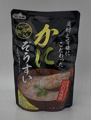 日本螃蟹肉粥