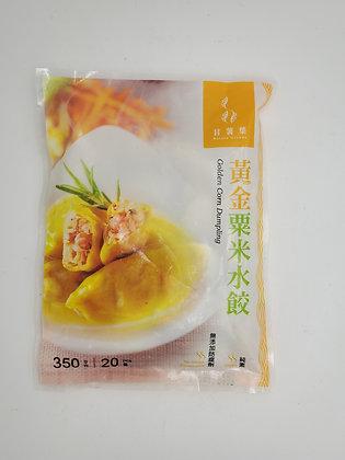 甘薯葉-黃金粟米水餃(素)
