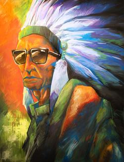 Chief Square Glasses