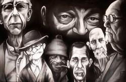 Old Men Faces