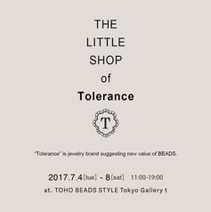 """THE LITTLE SHOP of """"Tolerance"""""""