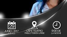 """El próximo 29 de junio disfruta """"Loren"""" en el Café Teatro Pablo Tobón Uribe."""