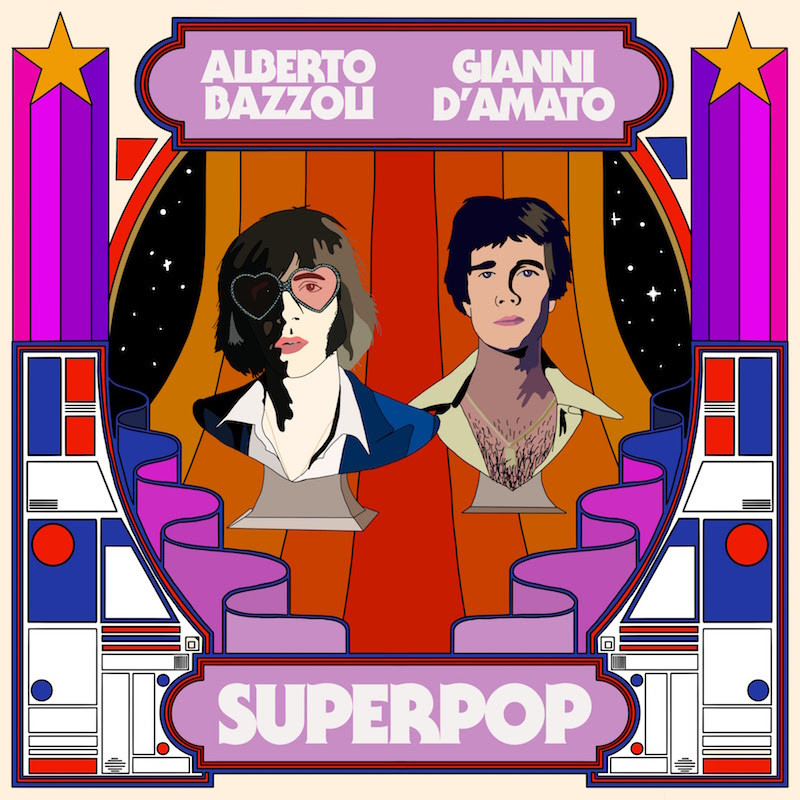 "La cover dell'album ""SuperPop"""