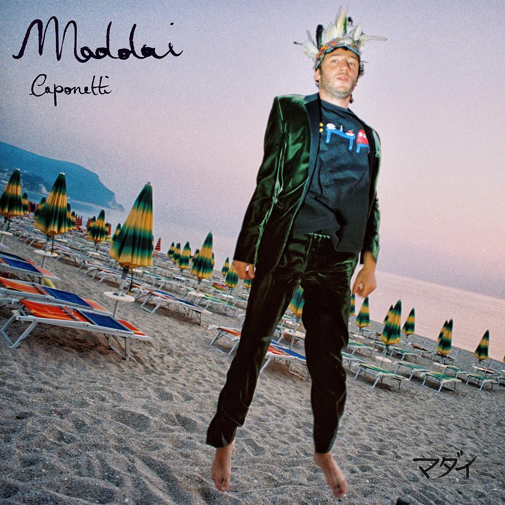 La cover dell'album Maddai di Claudio Caponetti