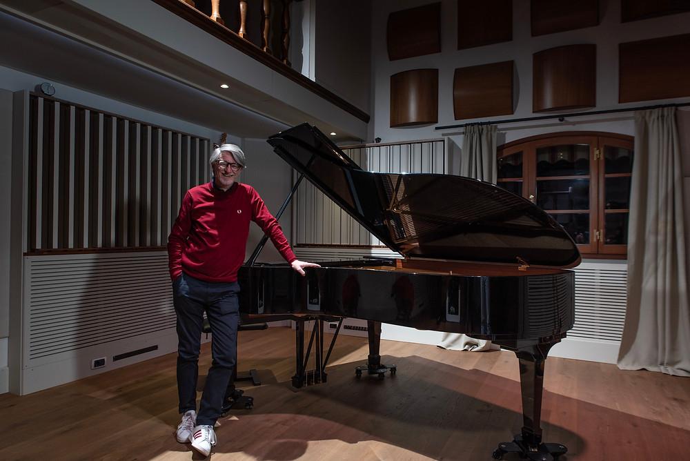 Eric Buffat al pianoforte di OBS - Officina Sonora del Bigallo